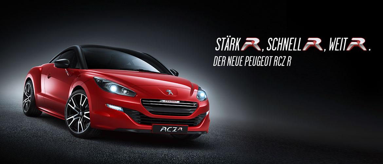 Der neue Peugeot RCZ R - Stärker, schneller, weiter